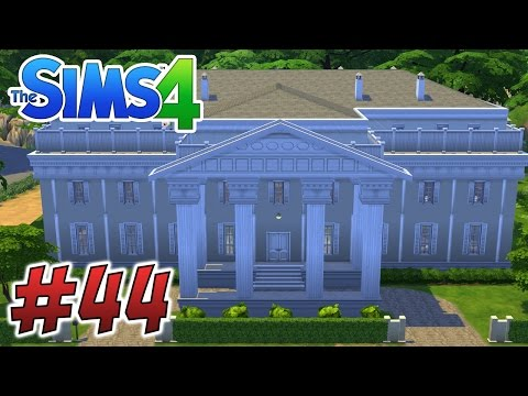 The Sims 4: The White House! & Movie Park! #44