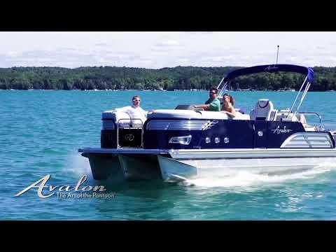 2018 Pontoon Boat AVALON AMBASSADOR | Luxury Pontoon Boat Models