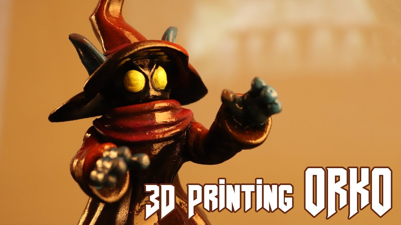 photo relating to 3d Printable Figures known as Let´s make Orko against Masters of the Universe 3D printing toys and statistics with Rober Rollin