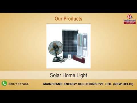Energy & Solar Solutions by Mainframe Energy Solutions Pvt. Ltd., New Delhi