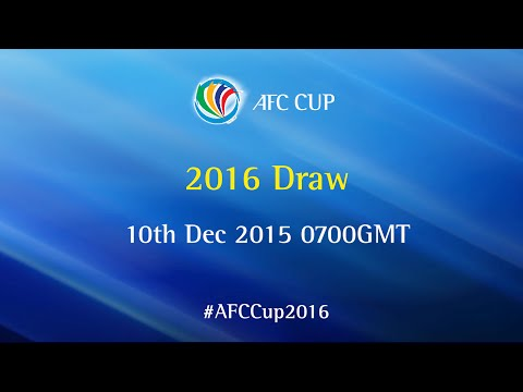 AFC Cup 2016: Official Draw