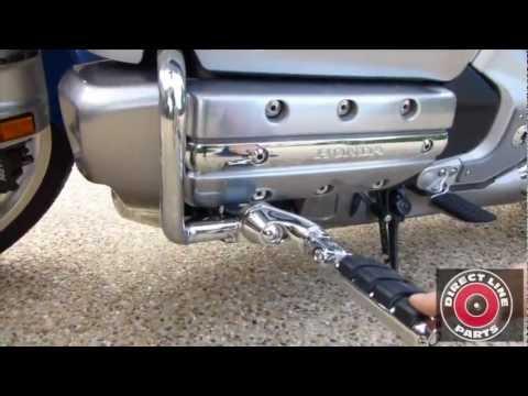 How To Install Kuryakyn Ergo II Footpegs on Honda Goldwing GL1800