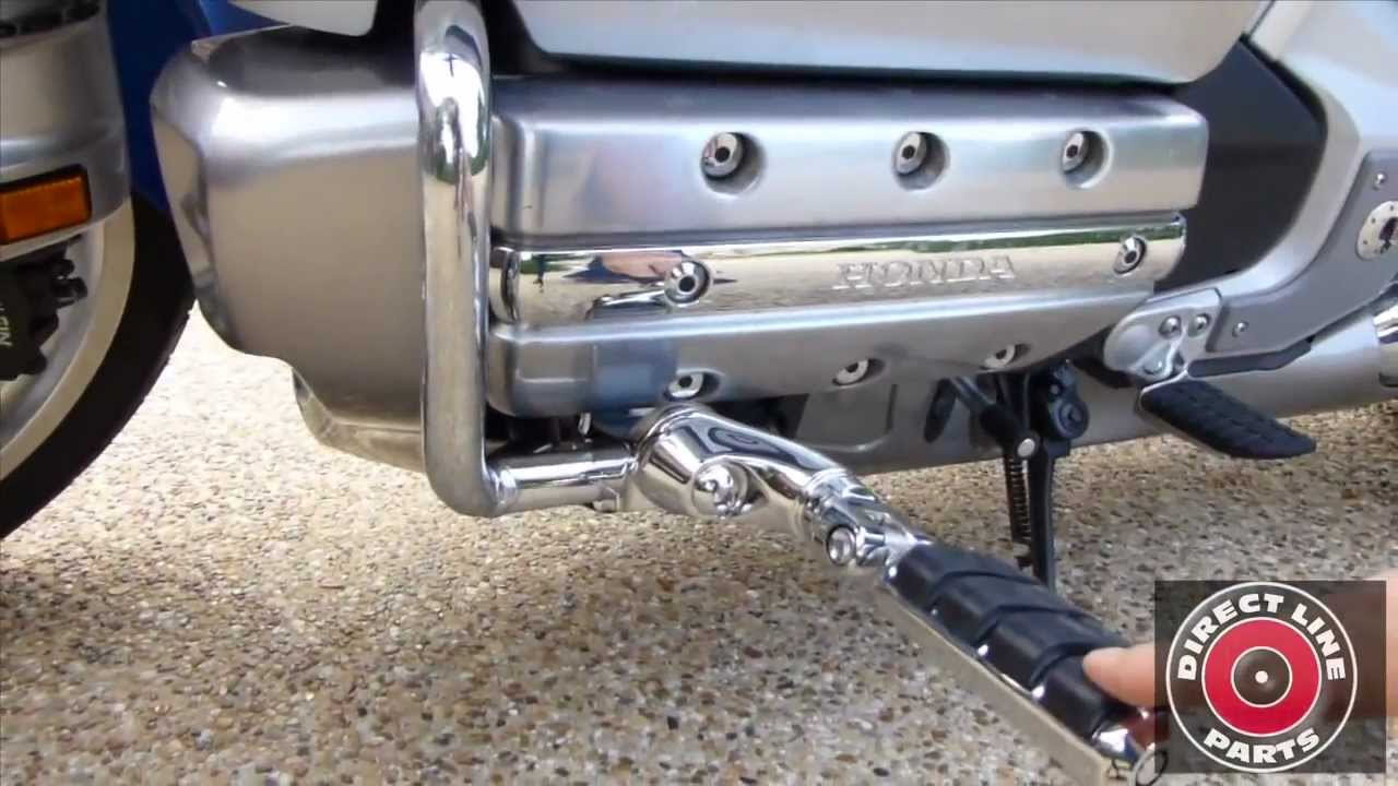 2014 Honda Valkyrie >> How To Install Kuryakyn Ergo II Footpegs on Honda Goldwing ...