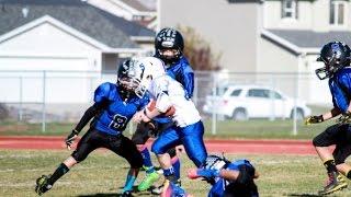 Trenton B. 2014 youth football highlights Hard hits DMAXX All-American