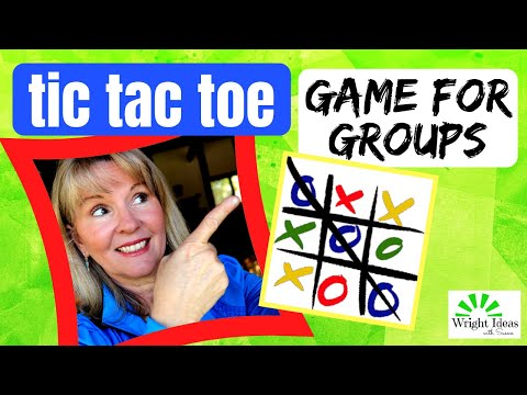 LET'S PLAY TIC TAC TOE: a review game for kids | CREATIVE CHILDREN'S MINISTRY IDEAS