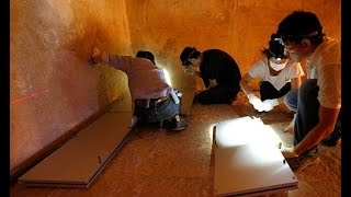 جديد اكتشاف غرف سريه  داخل الهرم الاكبر .. غرائب من حول العالم