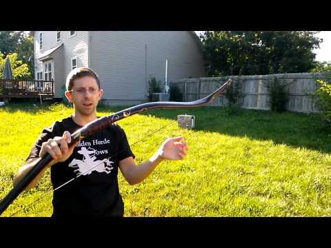 Shooting the Mirkwood Bow
