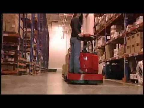 Power Steer Pallet Jack   Raymond Pallet Jacks   Electric ...