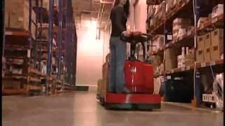 Power Steer Pallet Jack   Raymond Pallet Jacks   Electric Pallet Trucks