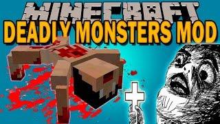 deadly monsters mod el exorcista en minecraft minecraft mod 1 10 2 1 11 review