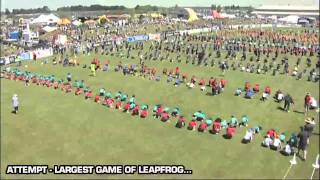 Guinness World Records Day 2010: Largest Game of Leapfrog