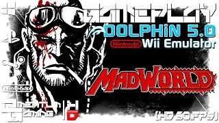 Madworld - Dolphin 5.0 | Wii Emulator Gameplay | HD.1080p 60ᶠᵖˢ