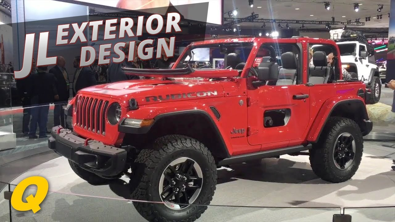 2018 Jeep Wrangler JL Exterior Design interview with Mark ...