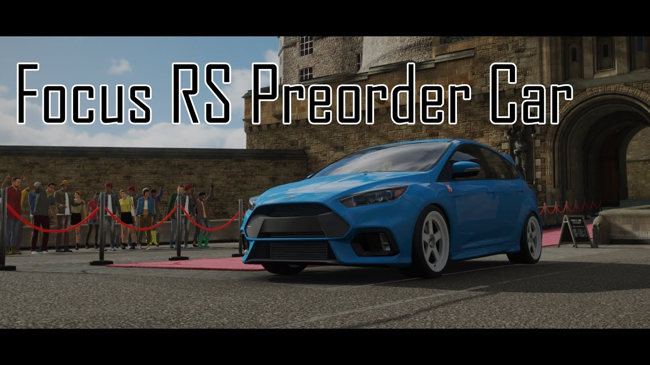 Forza Horizon 4 Preorder Ford Focus Rs Vs Regular 1080p60