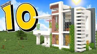 10 MODERN MINECRAFT HOUSES THAT WILL BLOW YOUR MIND!