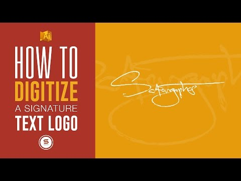 MAKE YOUR SIGNATURE DIGITALLY THE EASY WAY IN ILLUSTRATOR