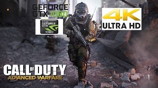 Call of Duty  Advanced Warfare (PC) 4K  NVIDIA GTX 1080 i7 6800k Gameplay with FPS Counter