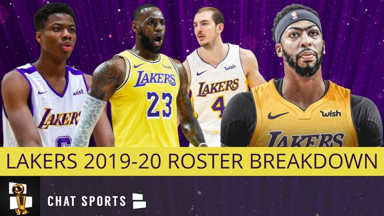 Lakers Roster Breakdown Examining Every Player On L A S Team In 2019 20 Youtube