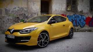 Renault Megane Coupe R.S. Test 2014 #ilovecars //review
