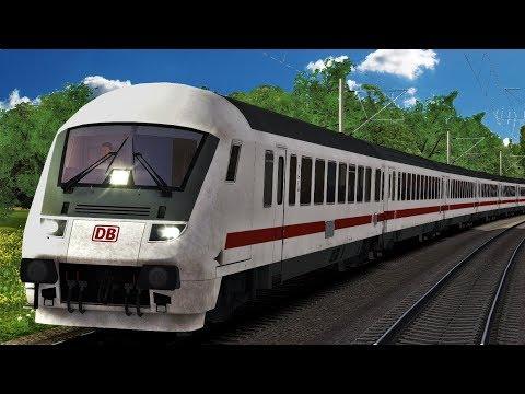 InterCity 2357 Ostseebad Binz | Steuerwagen + BR 101 | Berlin - Leipzig | Train Simulator 2018