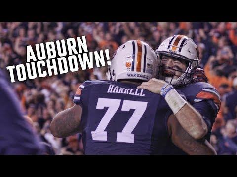 Auburn S Jarrett Stidham Scores The Final Touchdown In The Iron Bowl