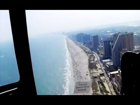 New Jersey - Beautiful Atlantic City Helicopter Ride Tourism USA