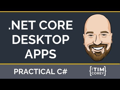 .NET Core 3.0 Desktop Apps - Creating And Publishing WPF And WinForm Apps In .NET Core