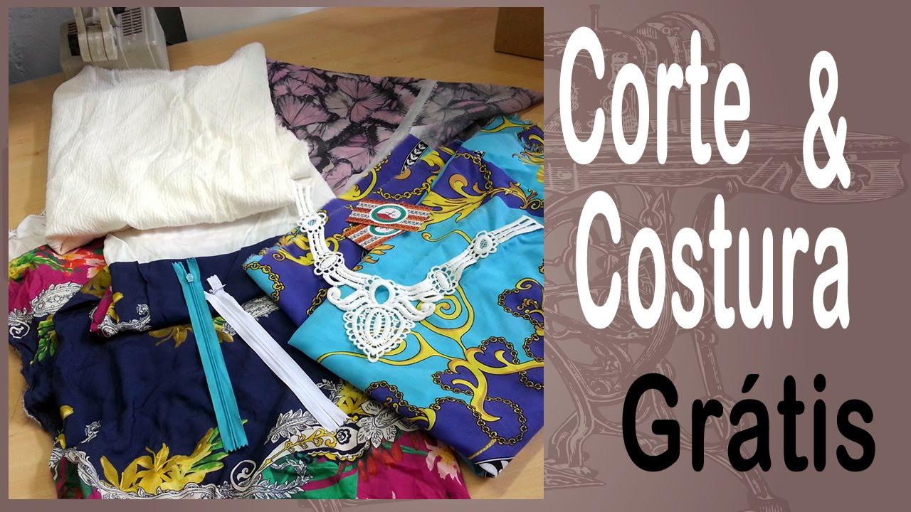 ddbec94d1 Corte e Costura - Vídeo de Recebidos - Tecidos - Loja Online Tecidos -  YouTube