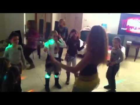 Sarah animation danse orientale enfant
