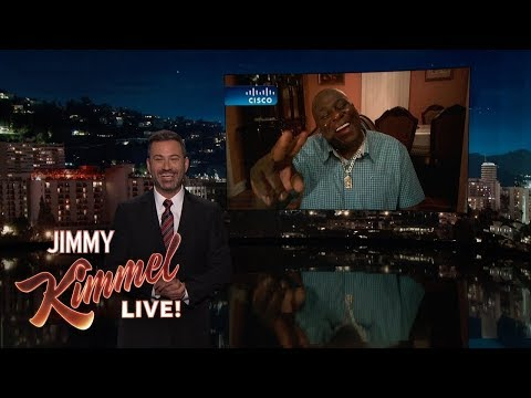 Jimmy Kimmel Gets Update From New York Lottery Winner