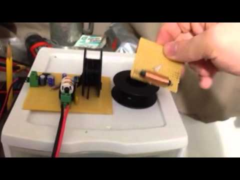 Wireless Energy Transfer w/ a low power Colpitts Oscillator