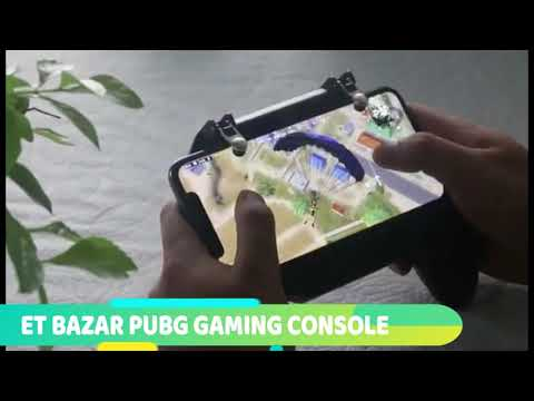 PUBG MOBILE CONSOLE WITH EMERGENCY 2000 MaH POWER BACK-UP | COOLING FAN | DUAL TRIGGERS