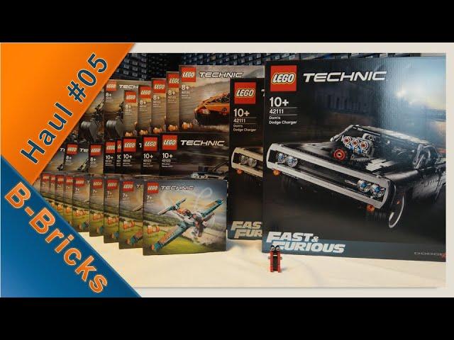 TECHNIC-Haul mit 14.000+ Items für BrickLink!   LEGO®Haul #05