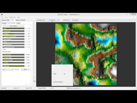 World Creator 1 -  Rivers and Lakes
