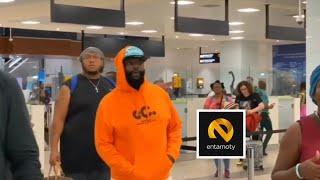 Breaking - RICK ROSS Arrives In Ghana | Entamoty Live
