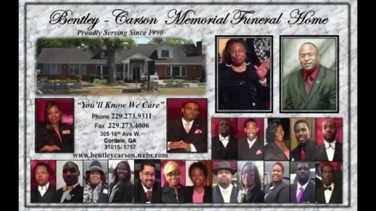 Bentley carson funeral home in cordele ga