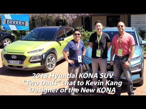 2018 Hyundai KONA The Designer Two Dads chat to the designer of Hyundai s new small SUV
