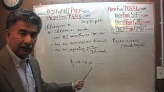 TEAS V, Math Day 10, p62, Rational vs. Irrational Numbers, Online Nursing Test Prep Tutor GRE GMAT