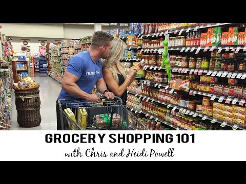 Grocery Shopping 101: Stocking Up on Healthy Food with Chris Powell and Heidi Powell