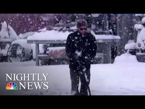 Early Winter Weather Across The Country Causes Accidents And Commuter Chaos | NBC Nightly News