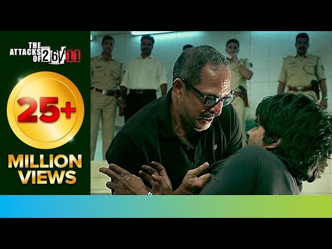 Nana gives a lesson about Jihad to Kasab | The Attacks Of 26/11 | Nana Patekar | Movie Scene