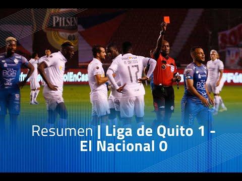 LDU Quito El Nacional Goals And Highlights