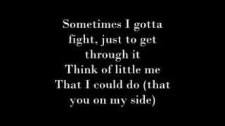 Nicole Scherzinger feat. Akon - By My Side with Lyrics