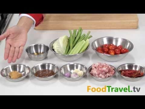 น้ำพริกอ่อง Thai Northern Style Chilli Paste