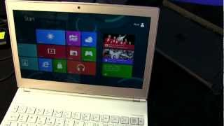 Acer Aspire S7 Super Thin Touchscreen Windows 8 Notebook Unboxing & First Look Linus Tech Tips