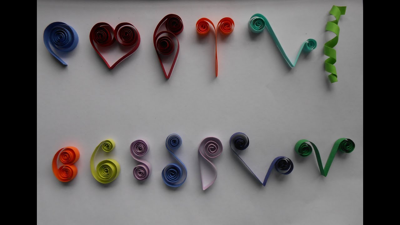 Papercraft How to Make Basic Quilling Scrolls - Tutorial Part 2 for Beginners