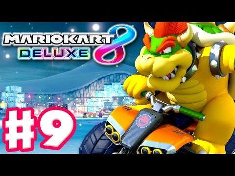 Bowser! Leaf Cup! Online Vs Races! - Mario Kart 8 Deluxe - Gameplay Walkthrough Part 9