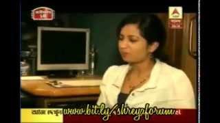 "Shreya ghoshal recording ""amaar akla akaash"" & interview with Jeet Ganguly"