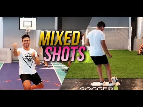 MIXED SHOTS CHALLENGE - Basket / Crossbar w/ iNoob, S7ormy, Bertra & Leo
