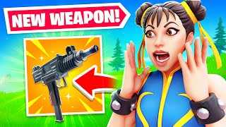 Epic ACCIDENTLY added a *NEW* GUN! (I Used It)